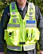 Large Arktis X661 Professional Firearms Instructor Vest, Hi Viz, FBI, US Army