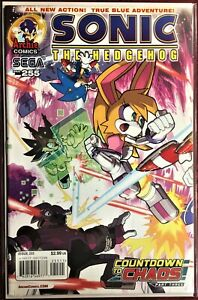 SONIC The HEDGEHOG Comic Book #255 January 2014 COUNTDOWN TO CHAOS Pt 3 Bag NM+