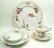 Ucagco MOSS ROSE (Old Rose) China Japan 6 Pc Place Setting(s) Nice!!