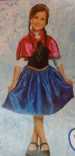 Disguise Disney Frozen Girls Traveling Princess Anna Costume M 8-10 Dress & Cape