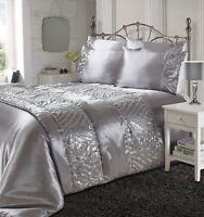 NUOVO SCINTILLANTI Elegante Set copripiumino biancheria da letto set-pillow