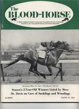 Blood Horse Dr. Fager World Record Mile-Top Knight