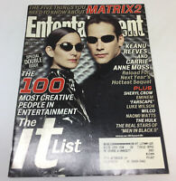 June 28 2002 Entertainment Weekly #660/661 ~ MATRIX 2, SHERYL CROW, EMINEM, more