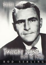 Twilight Zone Series 2 Rod Sterling Hall of Fame H1 Card 628/777