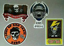 80s Old-School skateboard vintage sticker lot Blind Zero Powell Peralta HQ REPRO