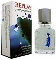 Replay Your Fragrance Edt Eau de Toilette Spray for Men 30ml NEU/OVP