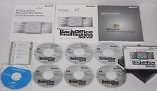 Microsoft Back Office Small Business Server 4.0 With Service Pack And Manuals