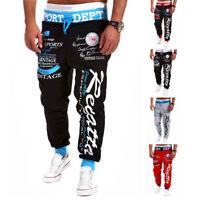 Hot Men's Trousers Sweatpants Fashion Harem Pants Slacks Jogger Dance Sportwear
