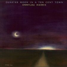 Quarter Moon in a Ten Cent Town [Bonus Tracks] [Remaster] by Emmylou Harris (CD, Feb-2004, Rhino (Label))