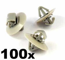 100x Clip Plastica Per Vauxhall Vivaro Lato stampaggio / protezione inferiore infisso della porta
