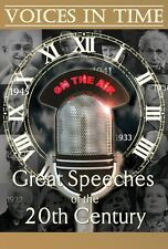 Voices In Time - Great Speeches Of The 20th Century (6 DVD) DVD