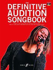 Definitive Audition Songbook with 2Cds  for Women *NEW* Faber Music