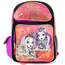 "Ever After High Large School Backpack 16"" Book Bag : Foever High"
