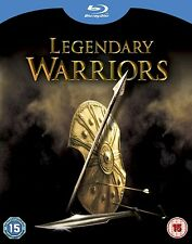 "LEGENDARY WARRIORS 4 FILIM COLLECTION 4 DISC BOX SET BLU-RAY REG B ""NEW&SEALED"""