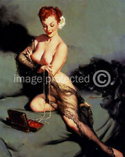 Fascination Vintage Gil Elvgren Pinup Girl Art 11x17 Poster