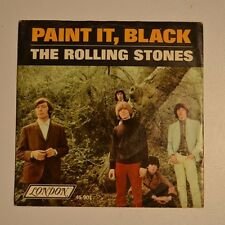 "ROLLING STONES - Paint it black - 1966 US 7"" SINGLE"
