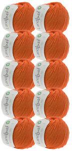 Lana Grossa 500g Wollpaket Lana Grossa Wolle Landlust Merino 180 Farbe 230, GOTS
