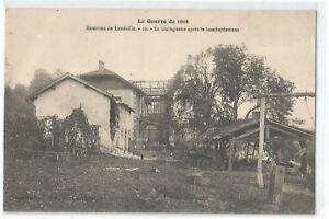 54 Guerre 1914, Dintorni Di Luneville, La Guinguette D'Apres il Bombardamento
