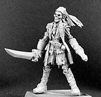 1 x BLACK KNIFE RAZIG - WARLORD REAPER figurine miniature rpg jdr pirate 14272
