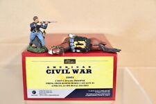 BRITAINS 31031 AMERICAN CIVIL WAR UNION CAVALRY TROOPER FIRING & CASUALTY HORSE