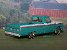 1965 65 FORD F-100 TRUCK 1/64 SCALE DIECAST COLLECTIBLE MODEL DIORAMA OR DISPLAY