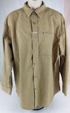 MARITHE FRANCOIS GIRBAUD  Shirt Mens Size XL  Long Sleeve Button Front