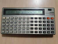 CASIO FX-702P Programmable Calculator, BASIC PC, Pocket Computer #739