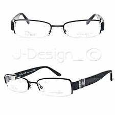 5e7b1d9ec50 Christian Dior CD3743 10G Matte Black 51 18 135 Eyeglasses Rx Made in Italy