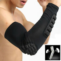 Men Basketball Guard Sports Arm Sleeve Pad Elbow Protective Gear Brace Support