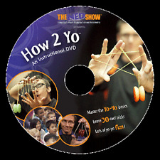 HOW 2 YO Master the Yo-Yo Basics! Instructional DVD NEW