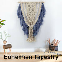 Handmade Macrame Wall Hanging Woven Tapestry Hand-Knit Tapestry Art Decor Gift