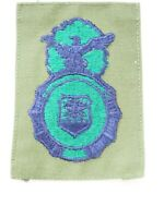 US Air Force cloth Military Police sew on Patch Subdued