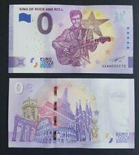 FRANCE - FRANCIA - BILLET 0 EURO - KING OF ROCK AND ROLL - ELVIS PRESLEY 2021.