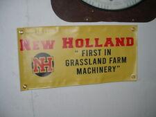 NEW HOLLAND BANNER VINYL 2 FEET BY 1 FOOT-GRASSLAND MACHINERY