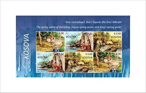 Kosovo Stamps 2021. The spring water. Sheet MNH