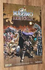 Maximo vs. Army of Zin very rare Promo Game Poster 59x42cm Capcom Playstation 2