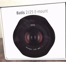New Carl ZEISS Batis 25mm f/2 Lens for Sony E Mount Made in Japan