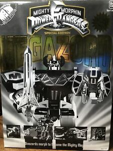 Mighty Morphin Power Rangers Special Edition Gold & Black Megazord Incomplete R2