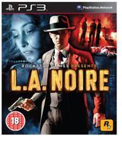 L.A. Noire (PS3 Game) **BRAND NEW & SEALED**