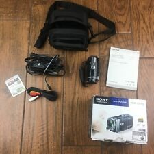 Sony HandyCam HDR CX190 HD Camcorder Box Carry Bag Manual