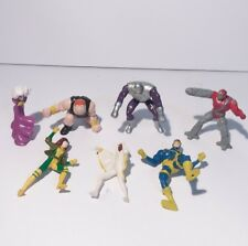 Marvel Hardees Figures Cyclops Rogue Storm Phantazia Avalanche Blob Commando