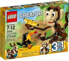 LEGO Creator 31019 Forest Animals - 3 in 1 Monkey Bear Toucan NISB Retired