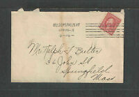 1916 USA COVER w/ BELLOWS FALLS VT CANCEL