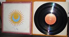 "King Crimson – Larks' Tongues In Aspic   POLYDOR ITALIA 1980 33 GIRI 12"""