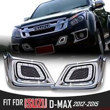 DRL Led Daytime Running Daylight Light Lamp Isuzu Dmax D-Max Rodeo 2012 2013 14