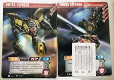 Giant Transformers Omega Supreme Autobot TCG Card Loot Crate