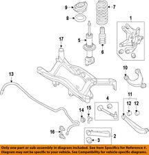 SUBARU OEM 2015 WRX STI Rear-Trailing Control Arm 20250VA010