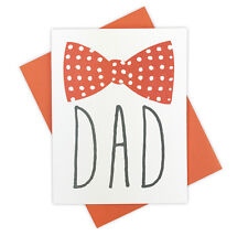 Hipster Bowtie Handmade Father's Day Card for Dapper Fashionable Dads