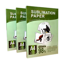 110 Sheets Iron Heat Sublimation Transfer Paper On T Shirt Mug For Injet Printer