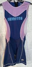 Cerritos College DeSoto Cycling Padded Triathlon Skinsuit Singlet, Women's Large